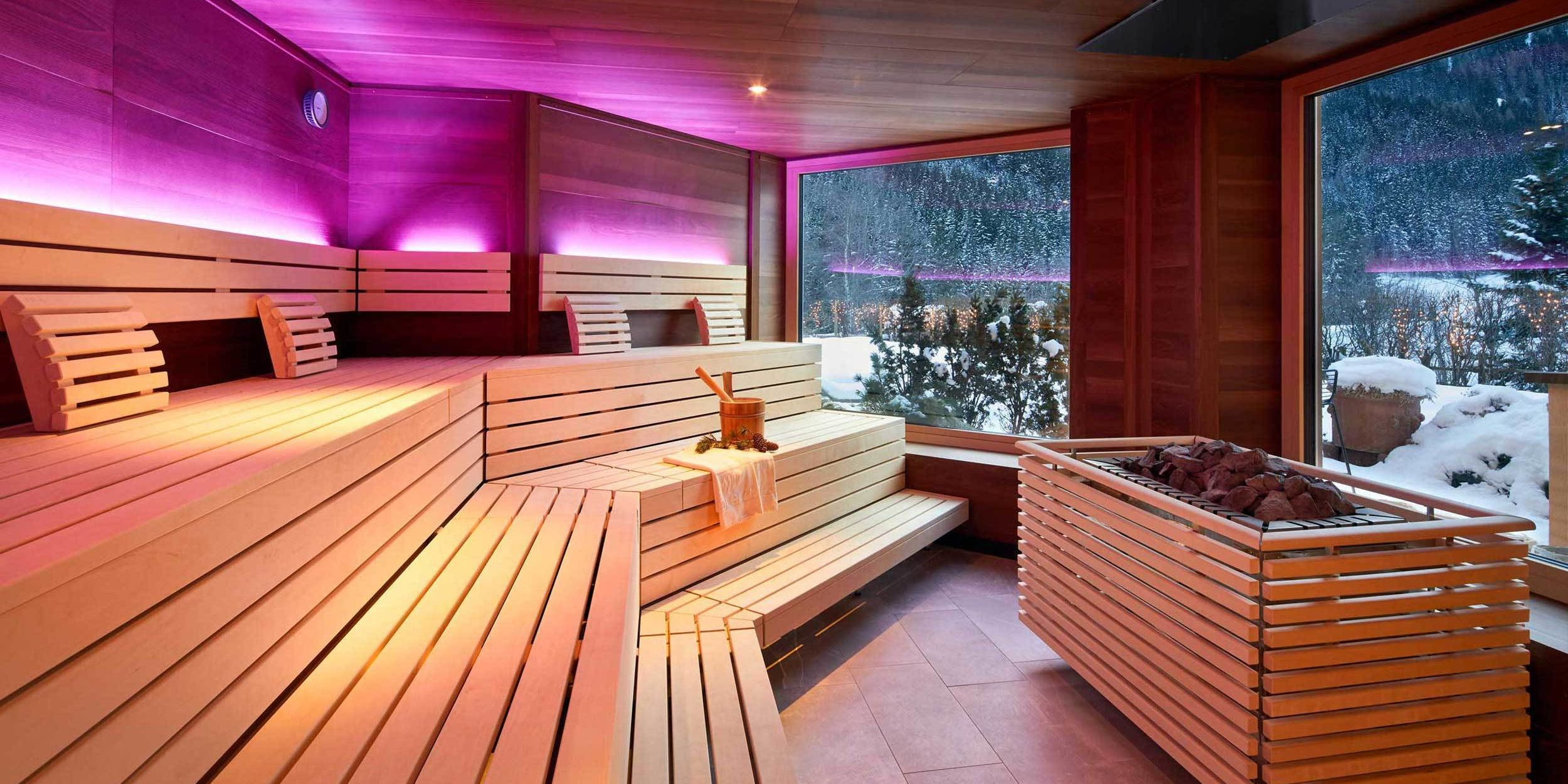 Panorama Sauna at the Adler Inn